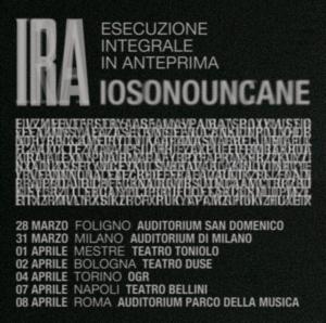 SOLD OUT // IOSONOUNCANE @TEATRO DUSE @ Teatro Duse Bologna