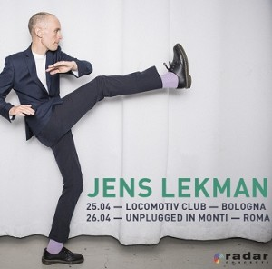 JENS LEKMAN + MARGHERITA VICARIO @ Locomotiv Club | Bologna | Emilia-Romagna | Italia