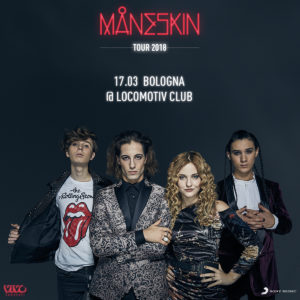 SOLD OUT - MANESKIN @ Locomotiv Club | Bologna | Emilia-Romagna | Italia