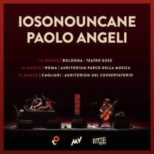 IOSONOUNCANE + PAOLO ANGELI @TEATRO DUSE @ Teatro Duse Bologna | Bologna | Emilia-Romagna | Italia