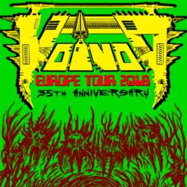 VOIVOD - 35th Anniversary tour @ Locomotiv Club | Bologna | Emilia-Romagna | Italia