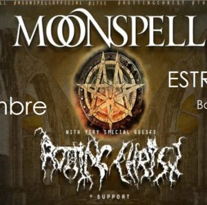 MOONSPELL & ROTTING CHRIST @ESTRAGON CLUB @ Estragon Club