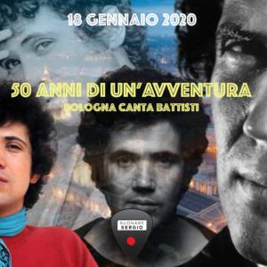50 ANNI DI UN'AVVENTURA - BOLOGNA CANTA BATTISTI