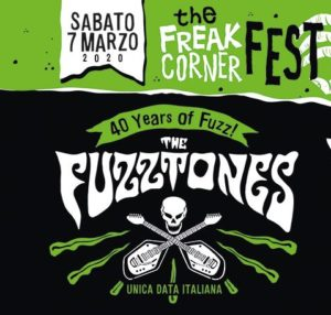 RINVIATO AL 17/10 // THE FUZZTONES (unica data italiana) / THE KIDS (unica data italiana) / THE MONSTERS - THE FREAK CORNER FEST @ Locomotiv Club