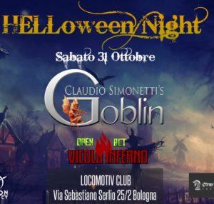 ANNULLATO // HALLOWEEN NIGHT // CLAUDIO SIMONETTI'S GOBLIN @ Locomotiv Club